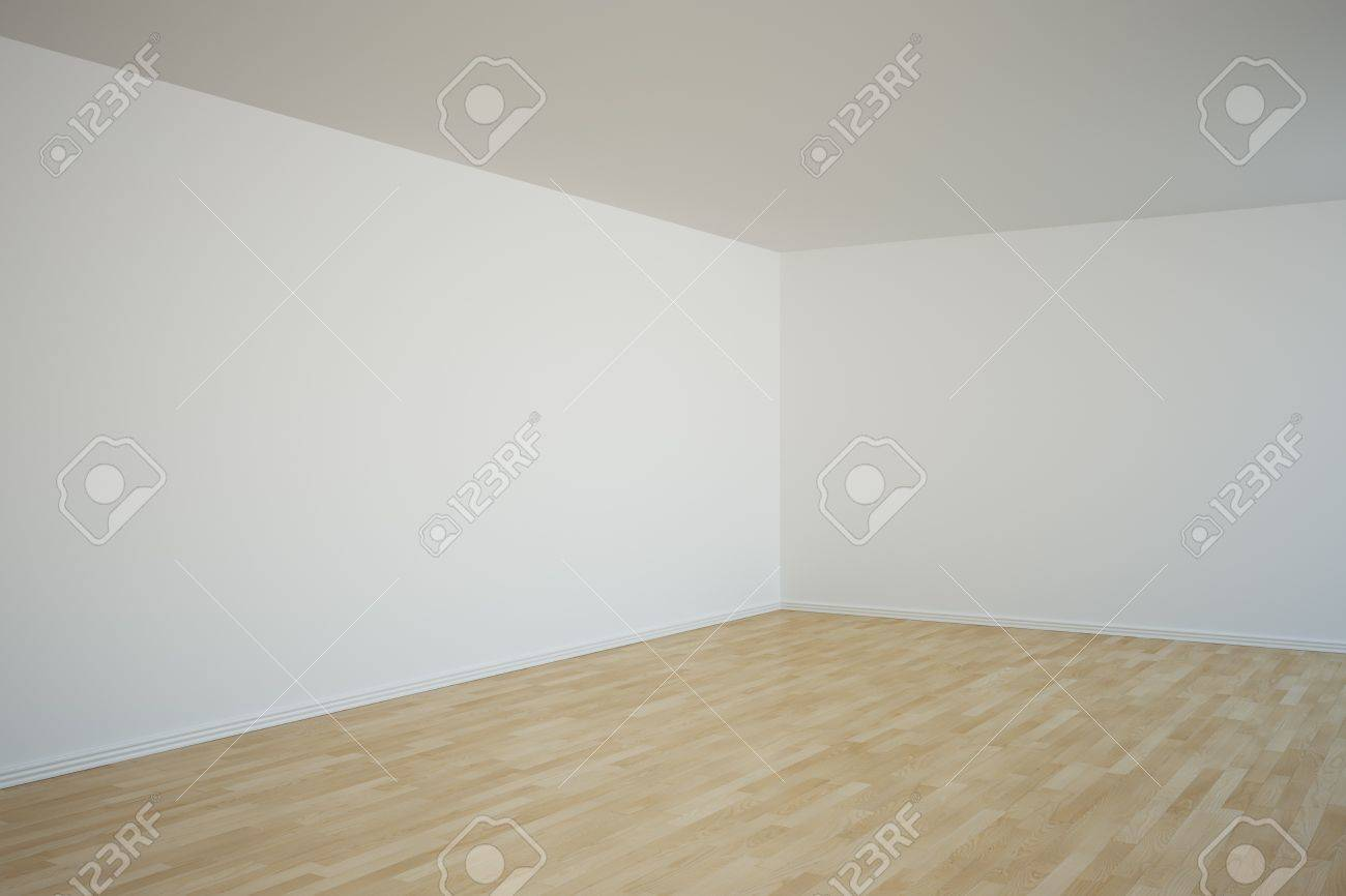3d rendering of a corner in an empty room Stock Photo - 7250842