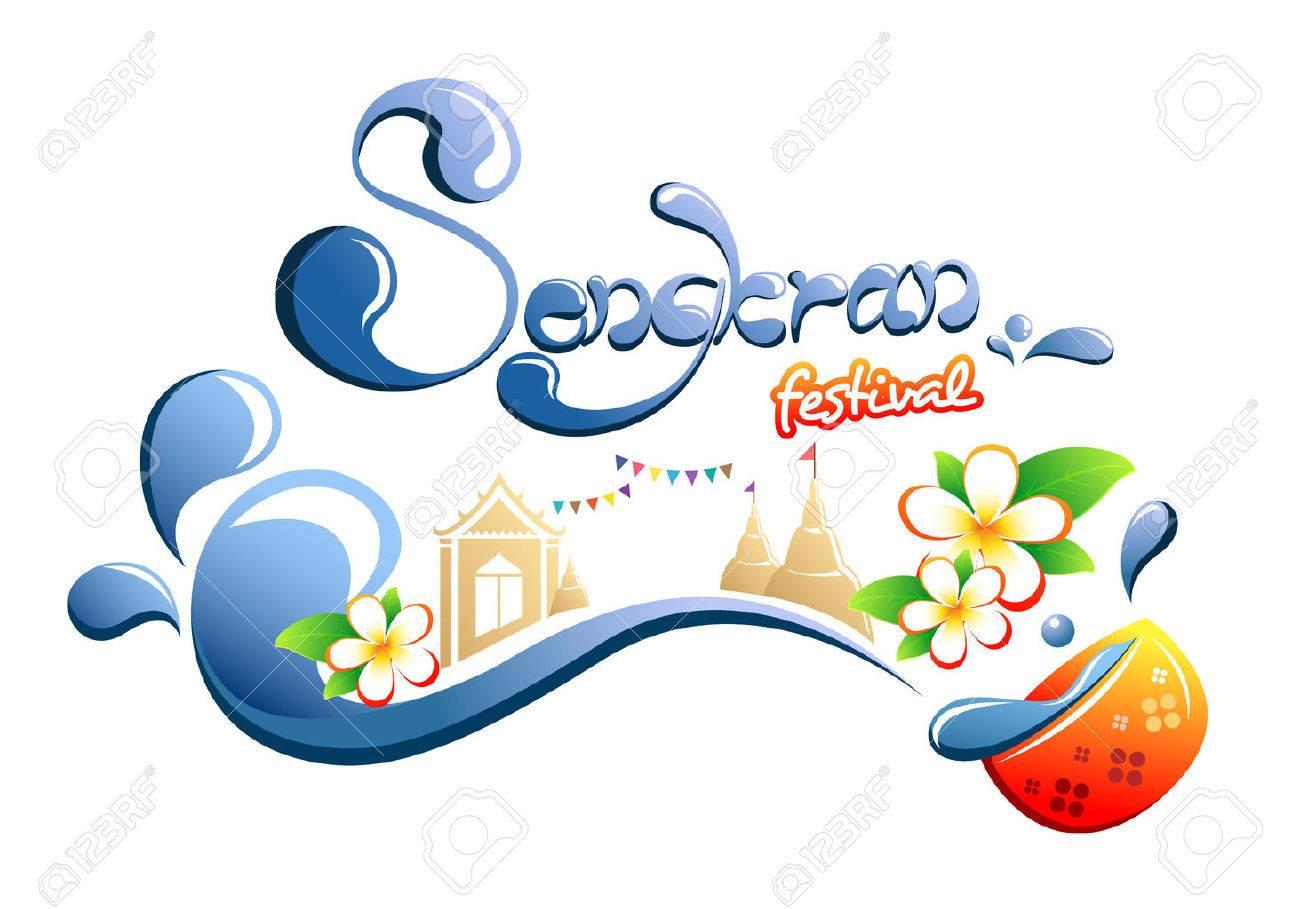 Happy songkran festival in thailand royalty free cliparts vectors happy songkran festival in thailand stock vector 53263630 kristyandbryce Choice Image