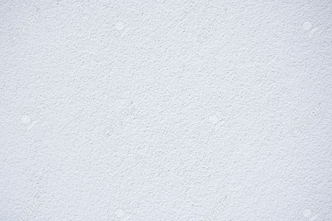 White Plaster Wall Texture Background Stock Photo Picture And