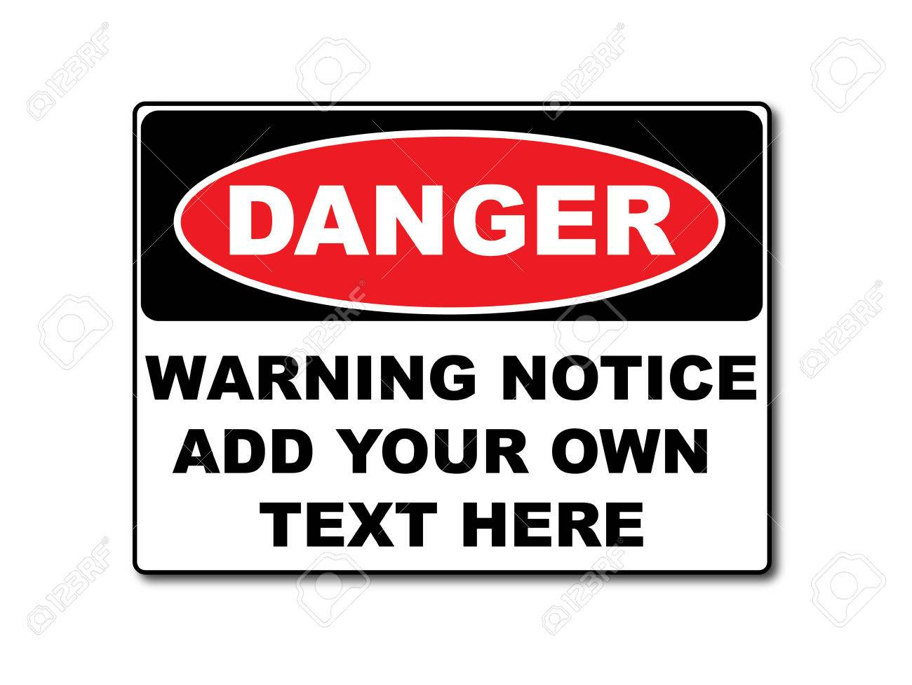 notice sign template free