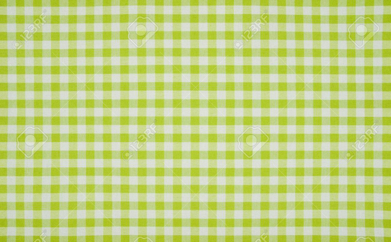 Green And White Checkered Tablecloth Stock Photo, Picture And Royalty Free  Image. Image 20243477.