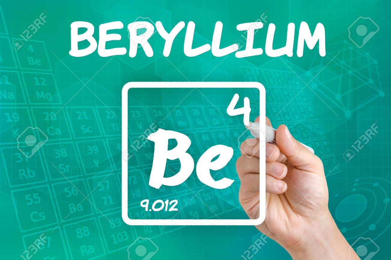 Symbol for the chemical element beryllium stock photo picture and symbol for the chemical element beryllium stock photo 21871716 biocorpaavc Images