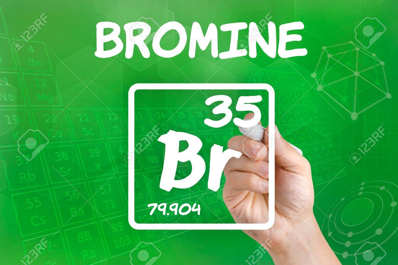 Symbol for the chemical element bromine stock photo picture and symbol for the chemical element bromine stock photo 21871719 biocorpaavc Image collections