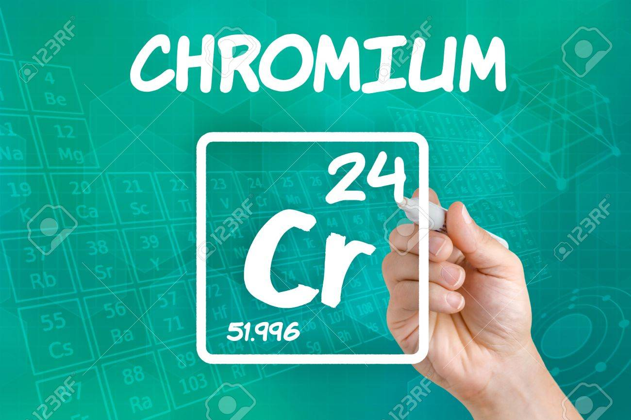 Symbol for the chemical element chromium stock photo picture and symbol for the chemical element chromium stock photo 21871726 buycottarizona Image collections