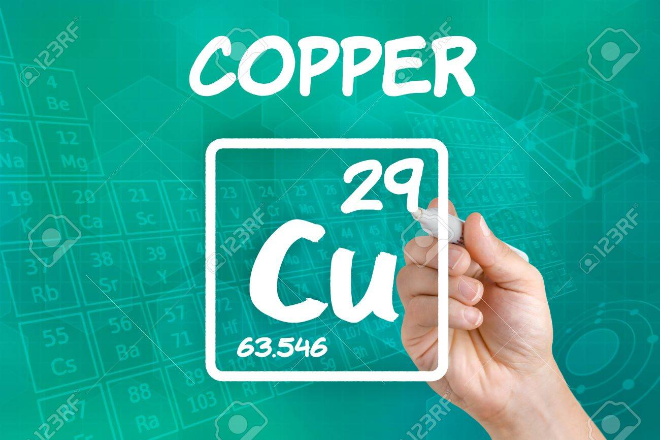 Symbol for the chemical element copper stock photo picture and symbol for the chemical element copper stock photo 21871728 buycottarizona Image collections