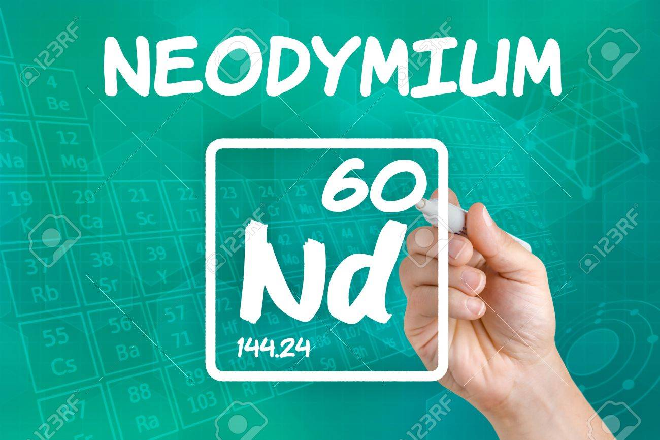 Symbol for the chemical element neodymium stock photo picture and symbol for the chemical element neodymium stock photo 21871754 buycottarizona
