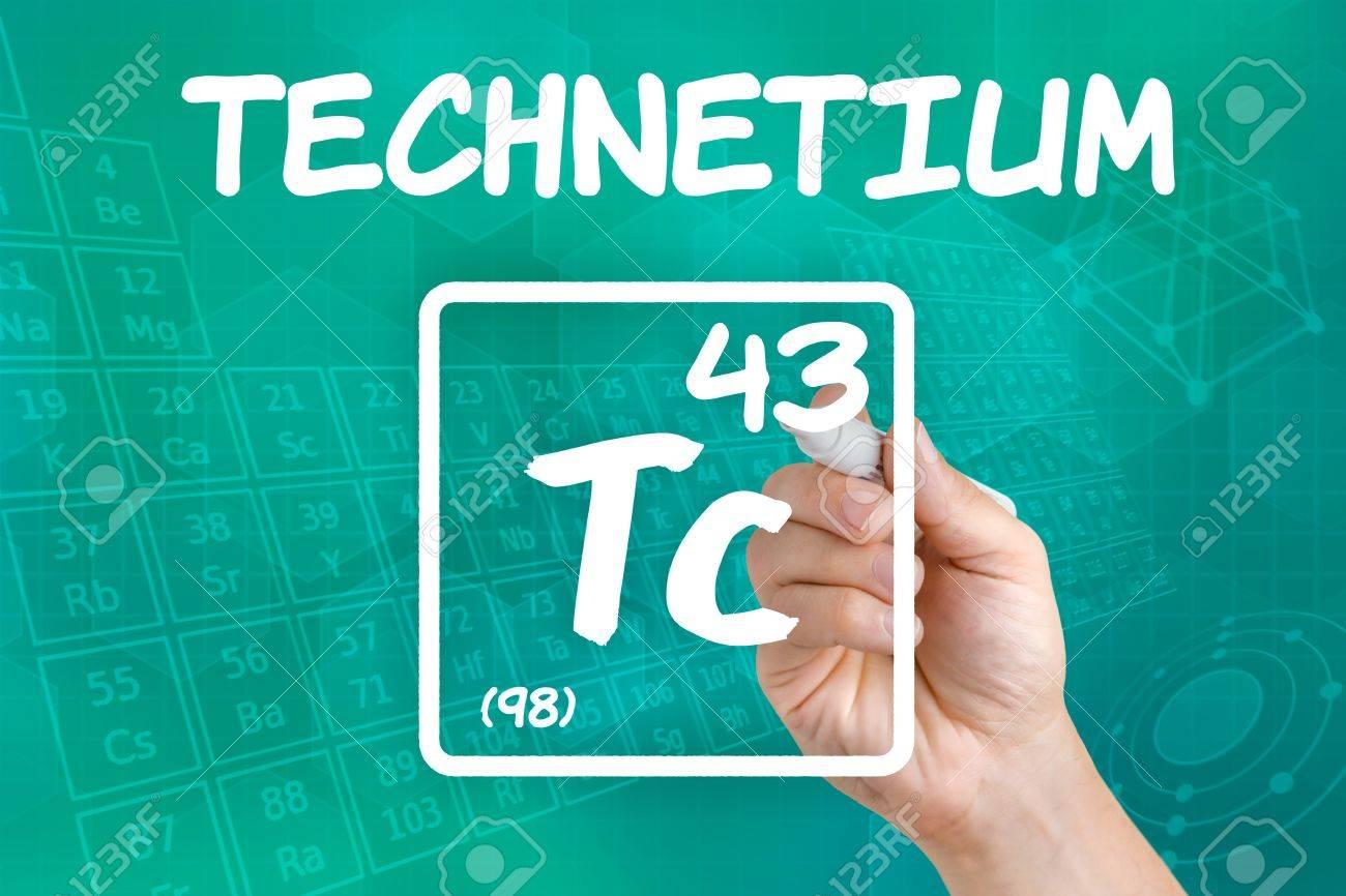 Symbol for the chemical element technetium stock photo picture symbol for the chemical element technetium stock photo 21845010 biocorpaavc