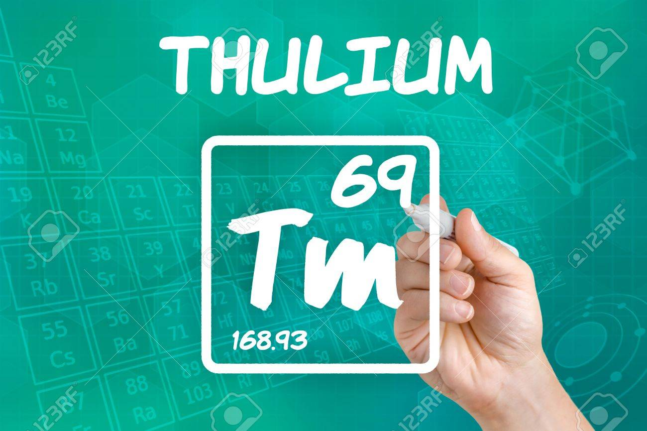 Symbol for the chemical element thulium stock photo picture and symbol for the chemical element thulium stock photo 21871787 buycottarizona Image collections