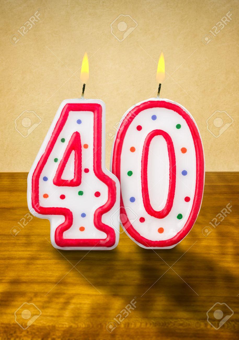 Imagenes De Cumpleanos Numero 40.La Quema De Velas En Su Cumpleanos Numero 40