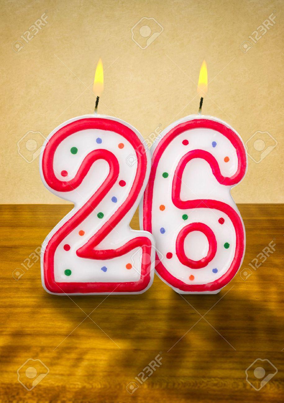 birthday number 26