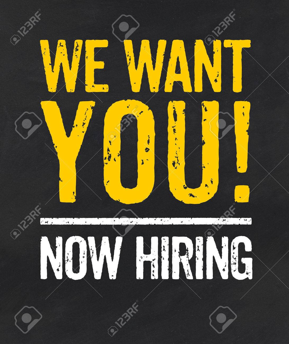 job advertisement images stock pictures royalty job job advertisement blackboard the text we want you stock photo