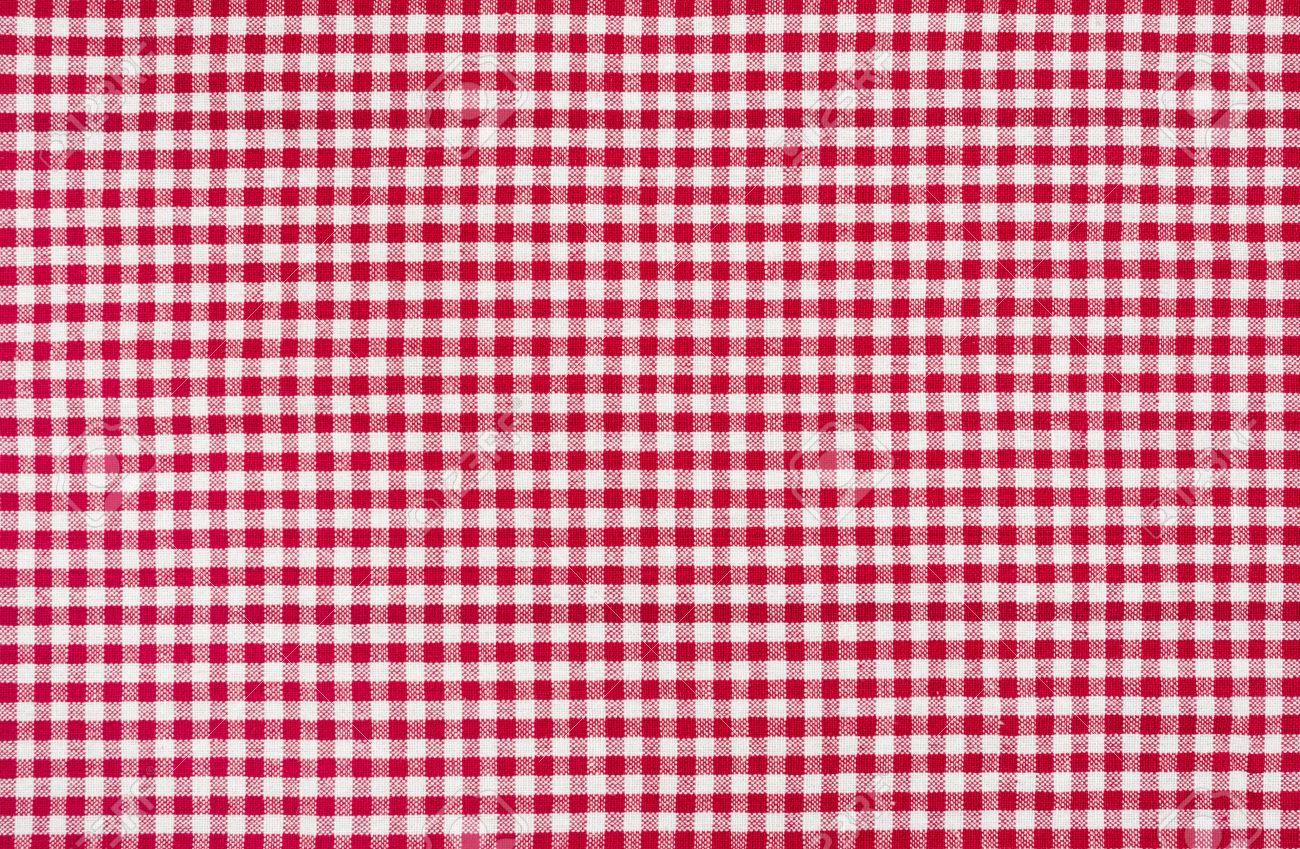 rouge et blanc nappe à carreaux banque d'images et photos libres de
