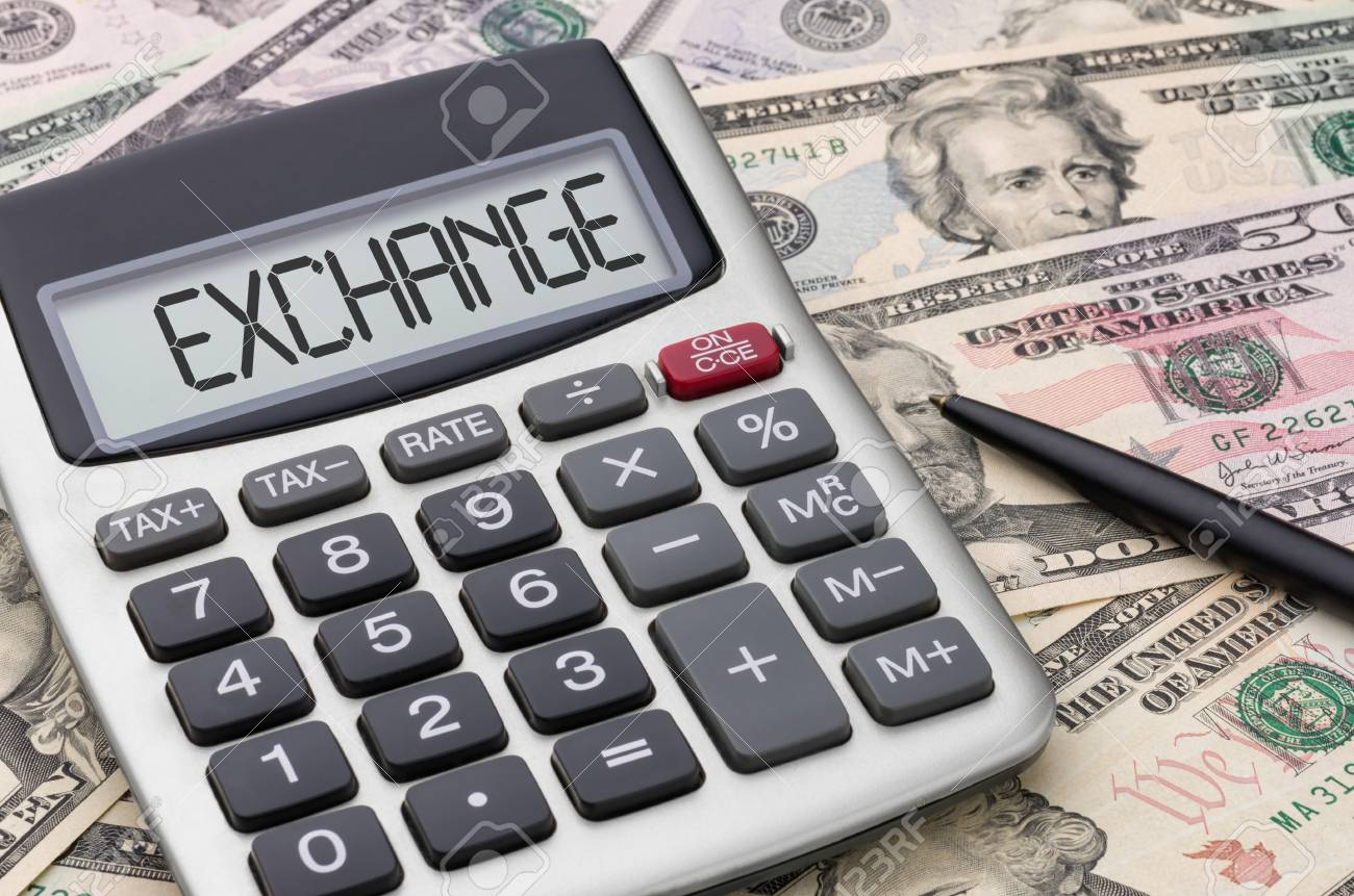 Money conversion calculator: exchange rate comparison.