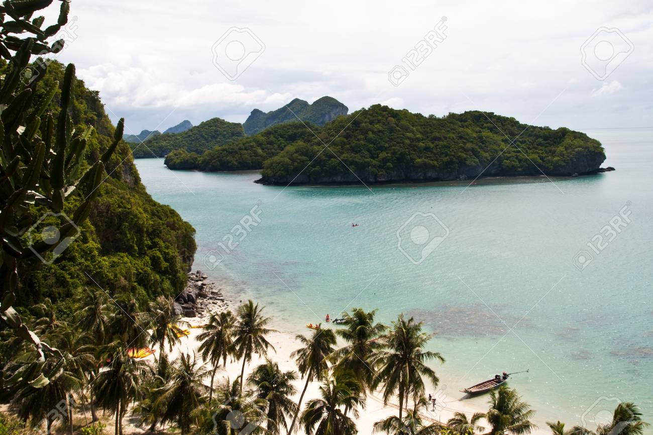 Wonderful Ang-thong Island, Thailand Stock Photo - 6797140
