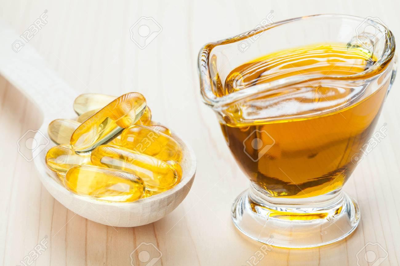 Resultado de imagen de fotos de aceite de pescado