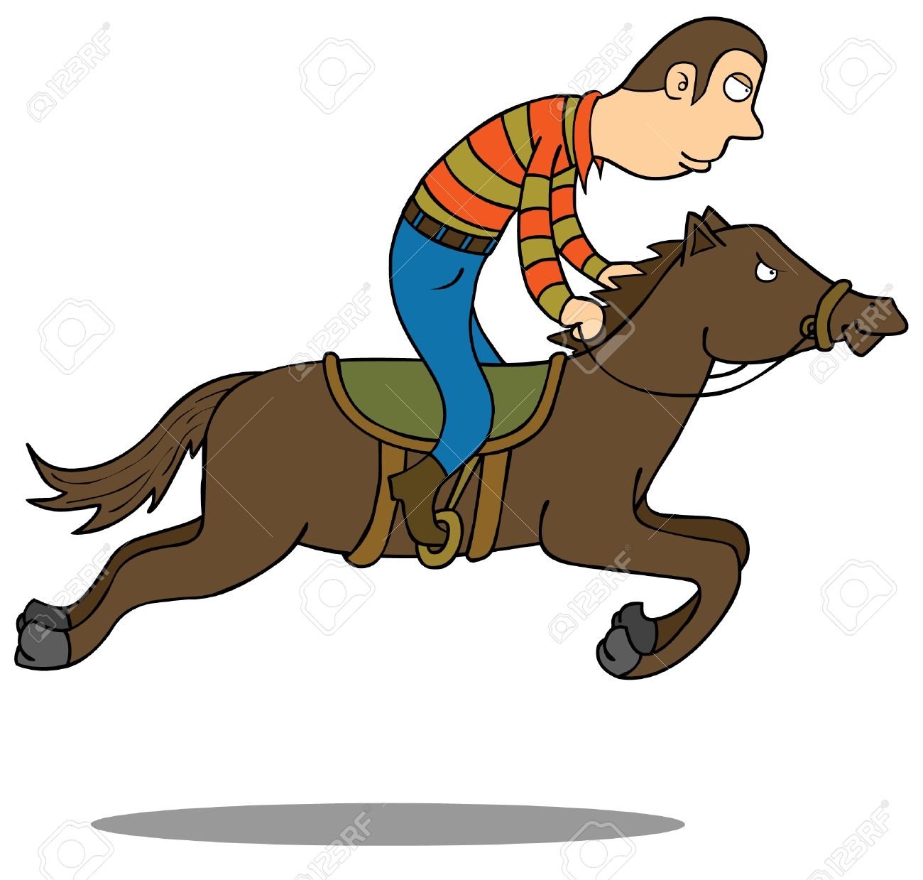 Horse Riding Royalty Free Cliparts Vectors And Stock Illustration Image 15669034