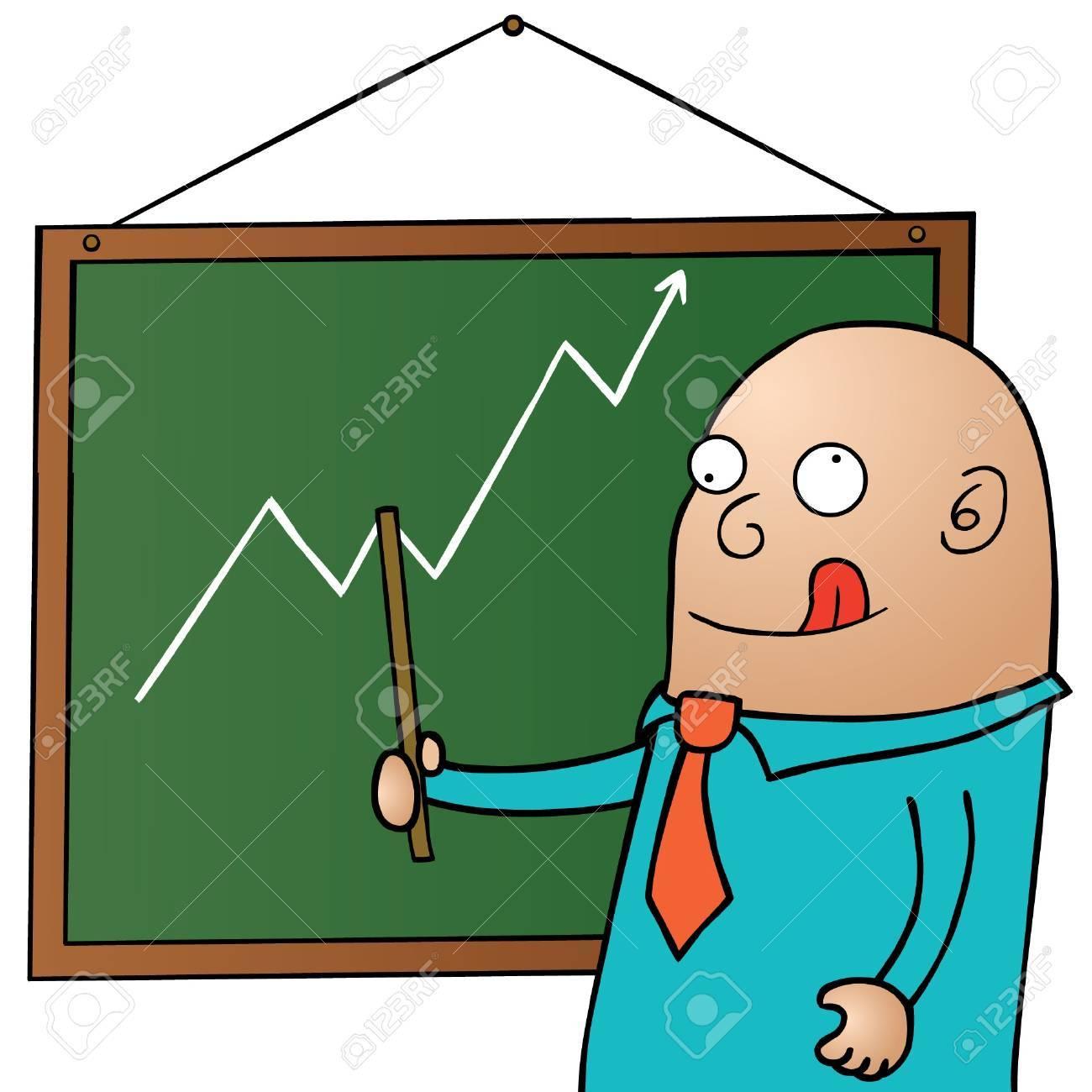 Crazy Presenter Stock Vector - 15669027