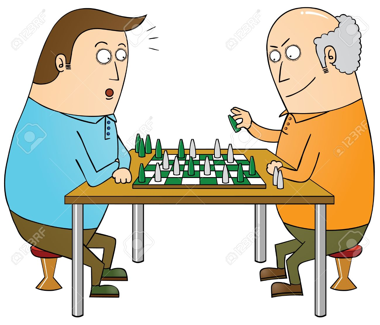 chess master Stock Vector - 16105708