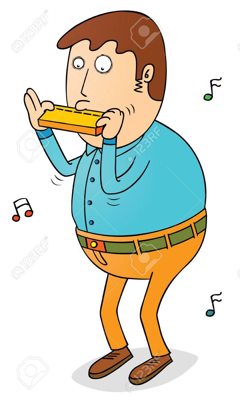playing harmonica royalty free cliparts vectors and stock rh 123rf com harmonica clipart harmonica clipart black and white