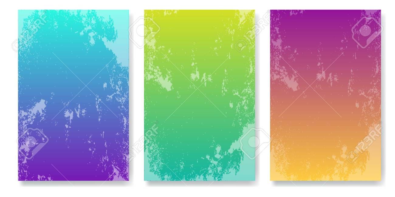 Soft Color Background With Grunge Effect Modern Screen Vector Design For Mobile App Stock
