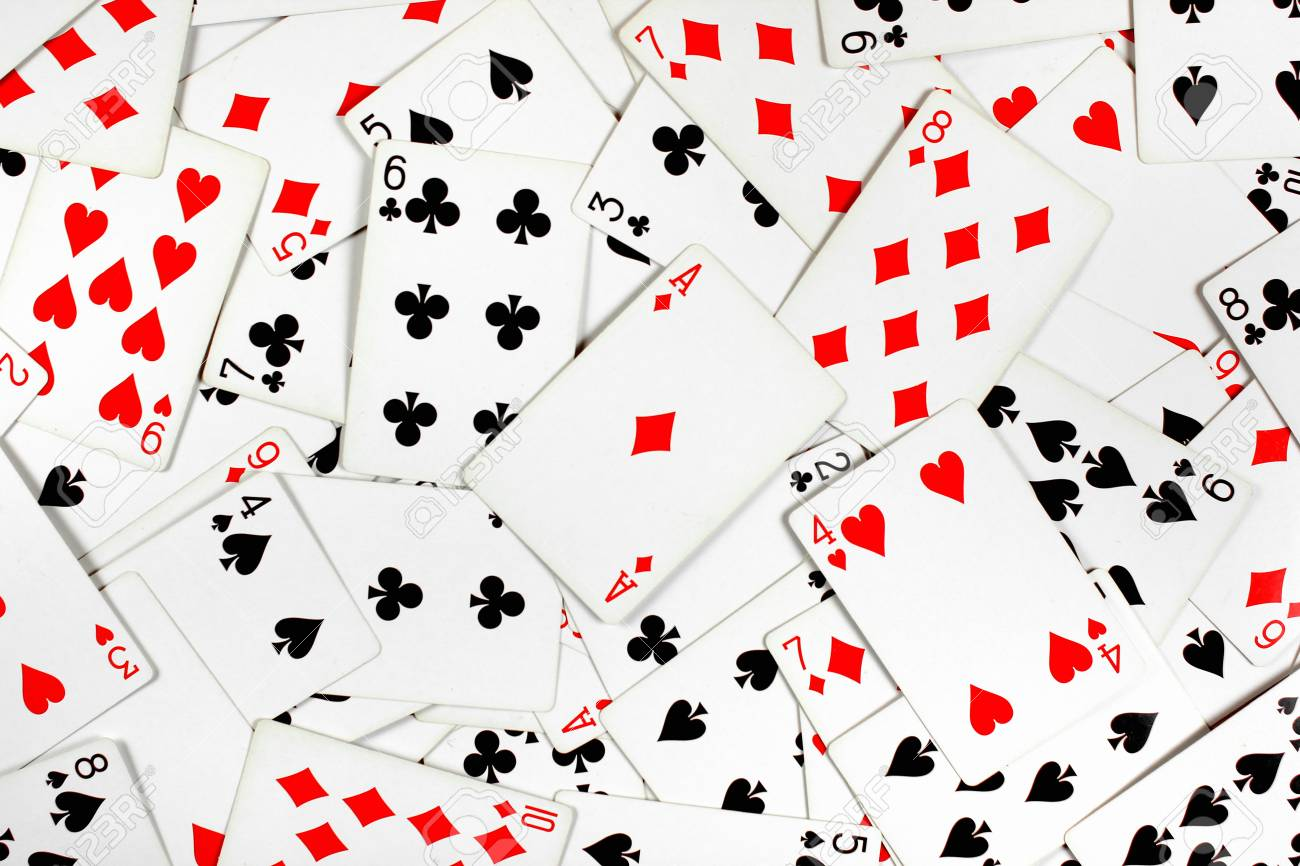 Ace Of Diamonds On Top Of Red And Black Playing Cards Stock Photo Picture And Royalty Free Image Image 95207427