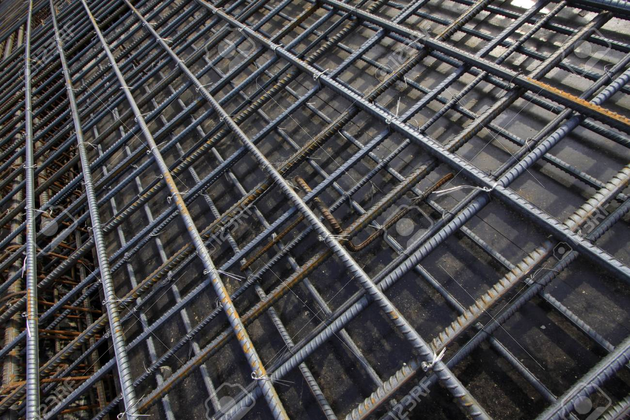 Twisted Steel Racking Seizing, Closeup Of Photo Stock Photo, Picture ...