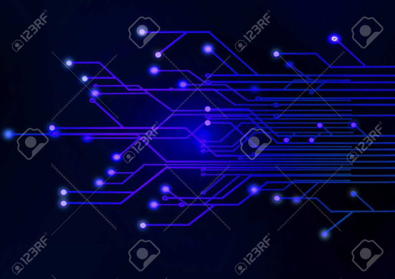 Abstract illustration  circuit board Stock Illustration - 9089464