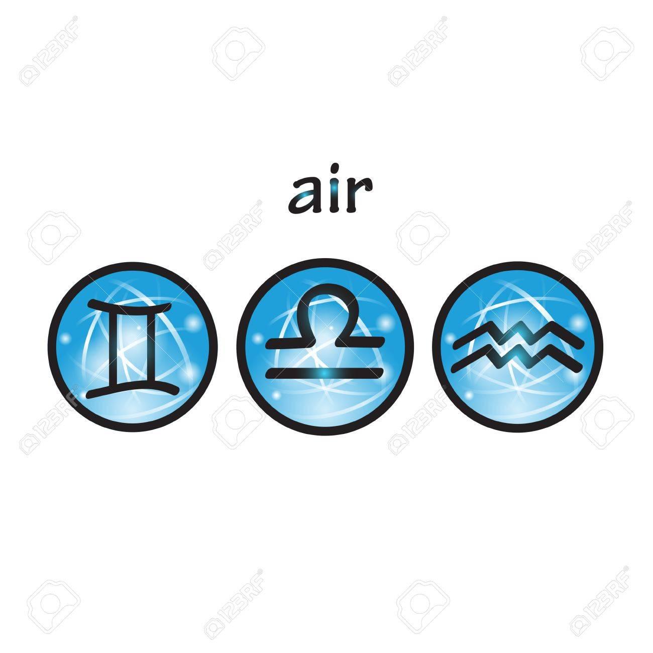 Horoscope symbols air element libra gemini aquarius royalty horoscope symbols air element libra gemini aquarius stock vector 52485979 biocorpaavc Choice Image