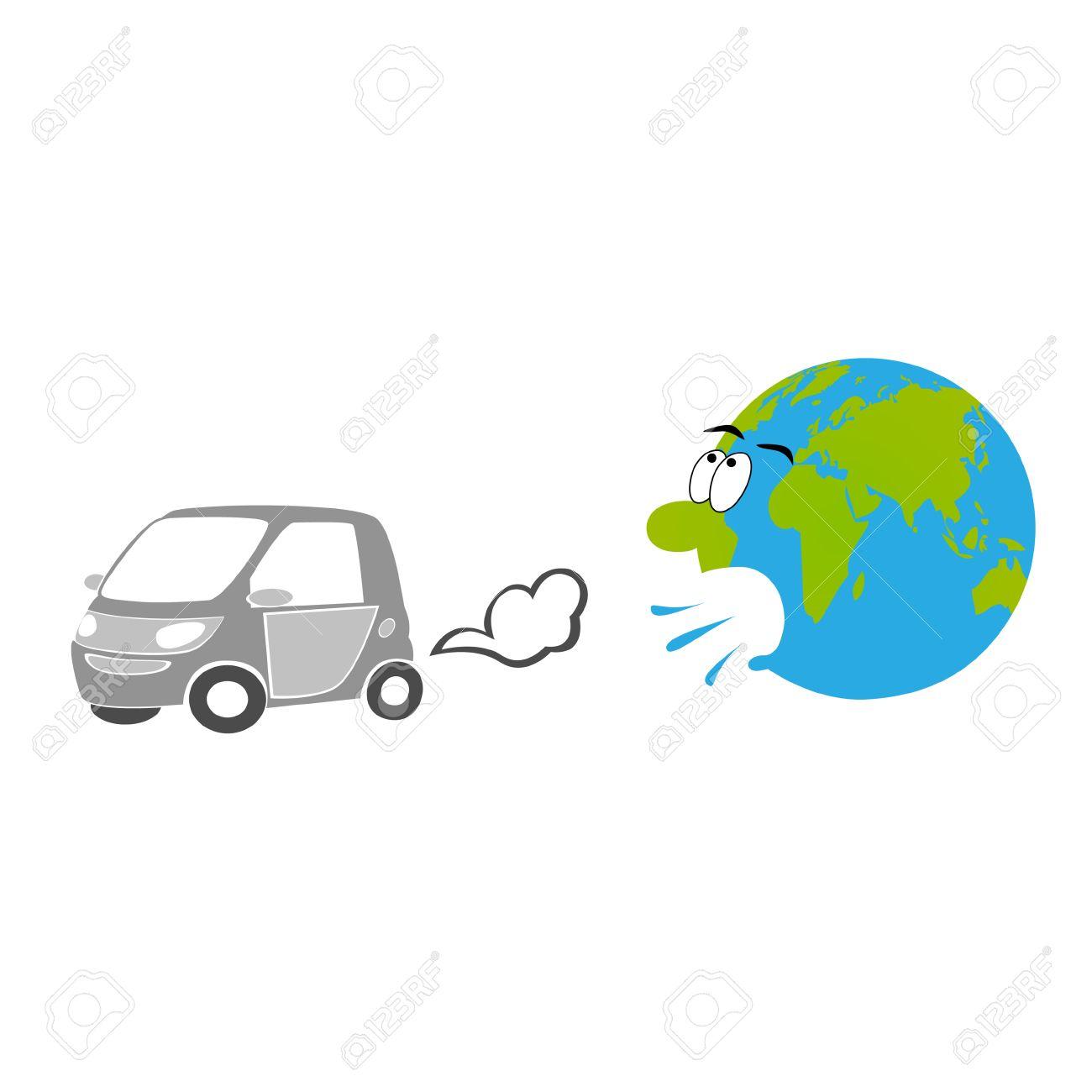 Car exhaust - 52842572