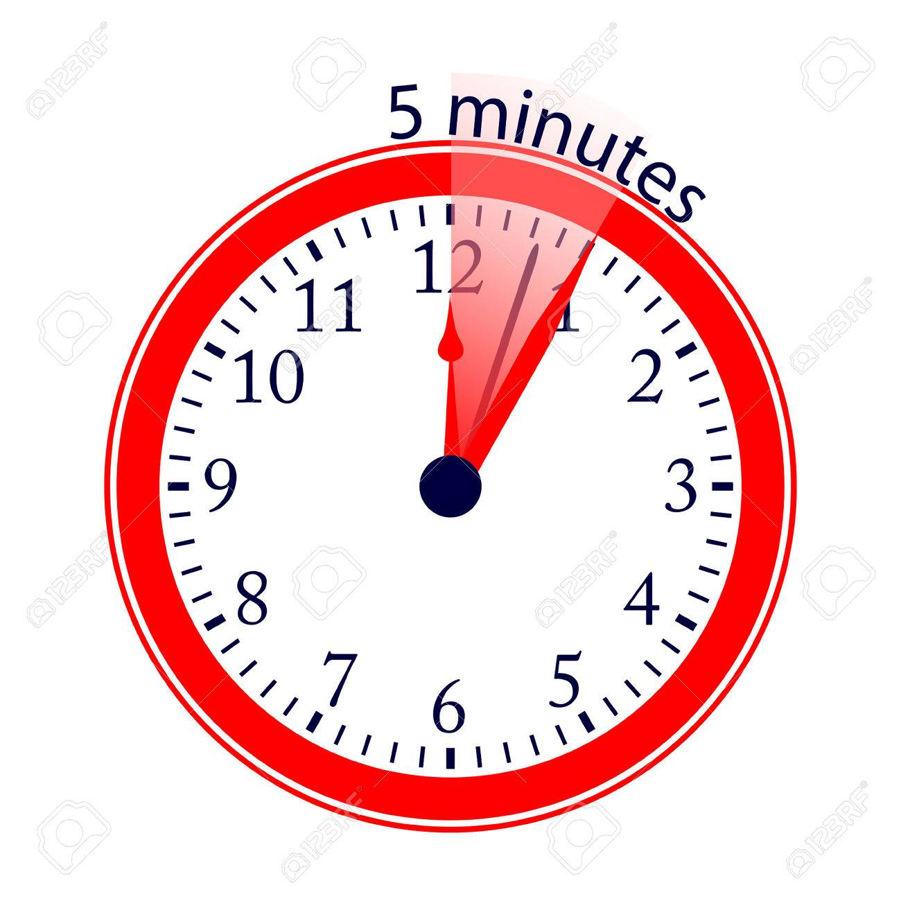 5 minutes clock - Isken kaptanband co