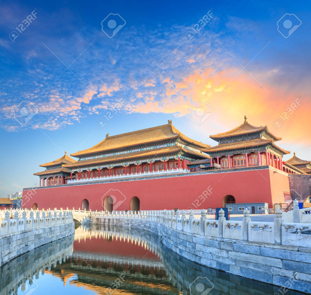 ancient royal palaces of the Forbidden City in Beijing,China - 74552793
