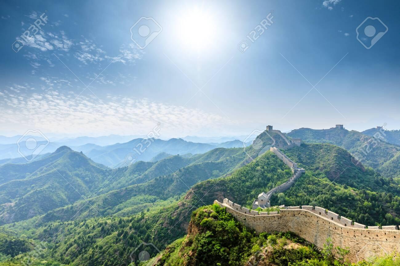 The Great Wall of China at Jinshanling - 122474723