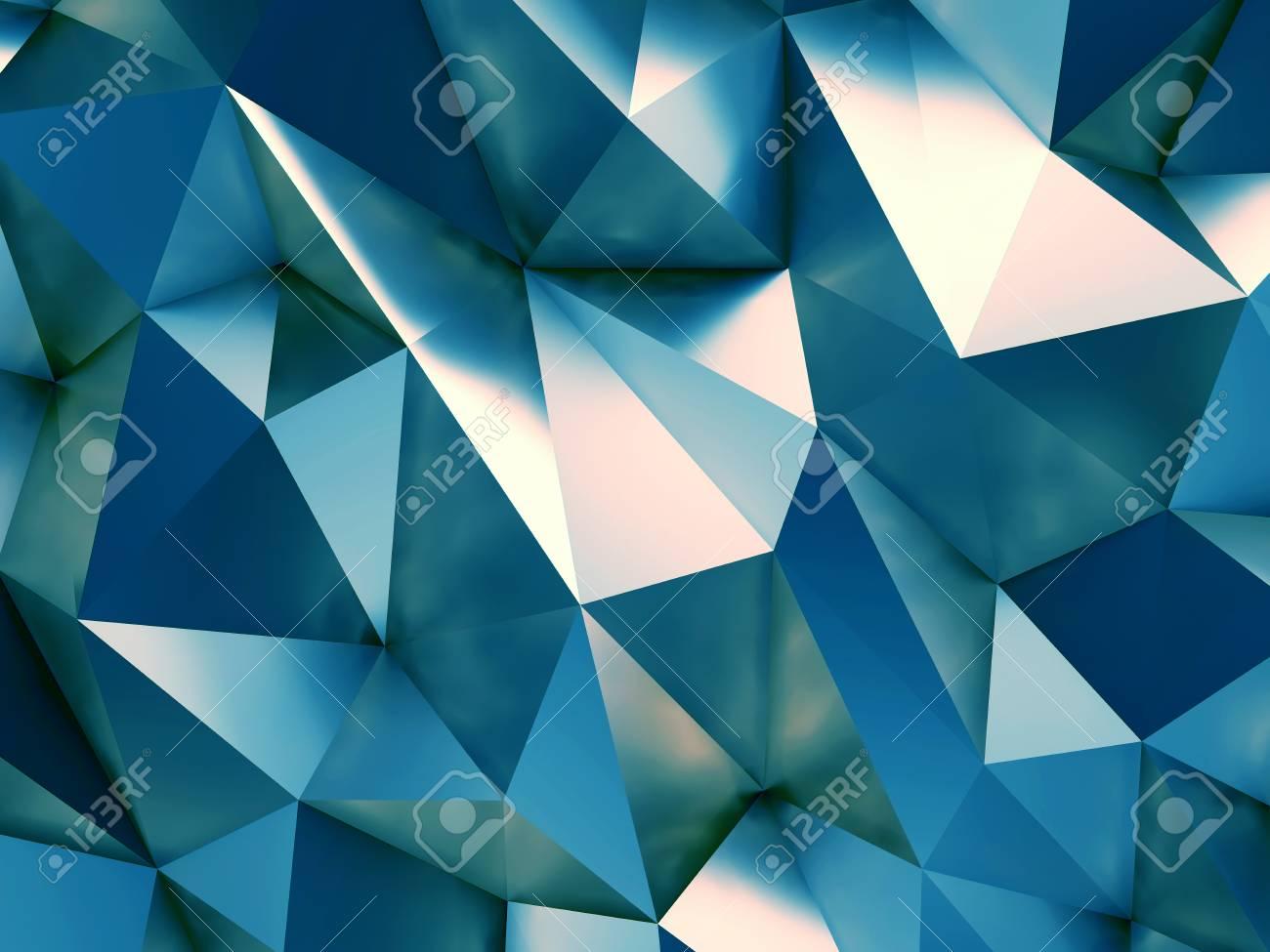 Fond Decran Abstrait Bleu