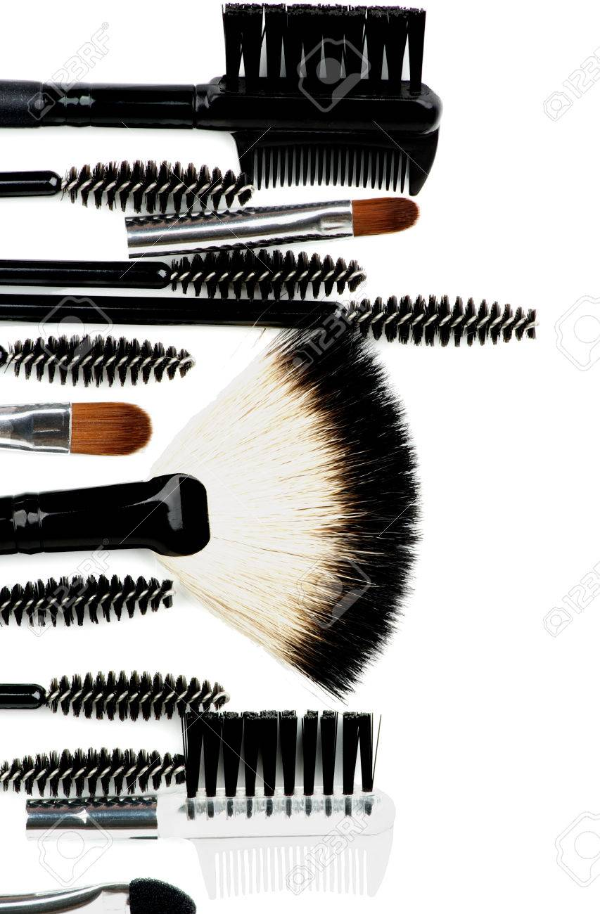 Maquillage Pinceaux Des De Cadre Et Applicateurs Différents Vertical wv8OPm0yNn