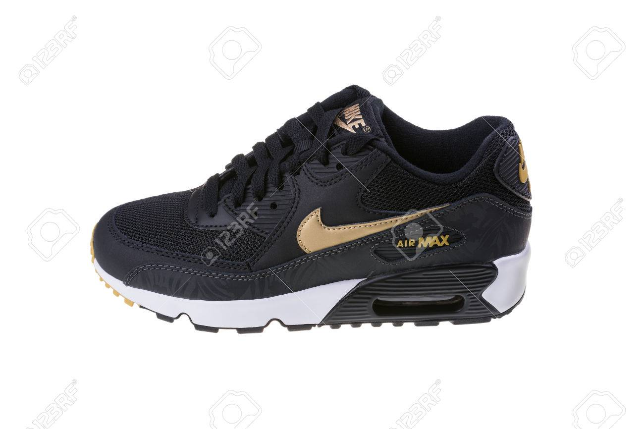 low priced f77d1 25622 BURGAS, BULGARIA - DECEMBER 29, 2016: Nike Air MAX women's shoes..