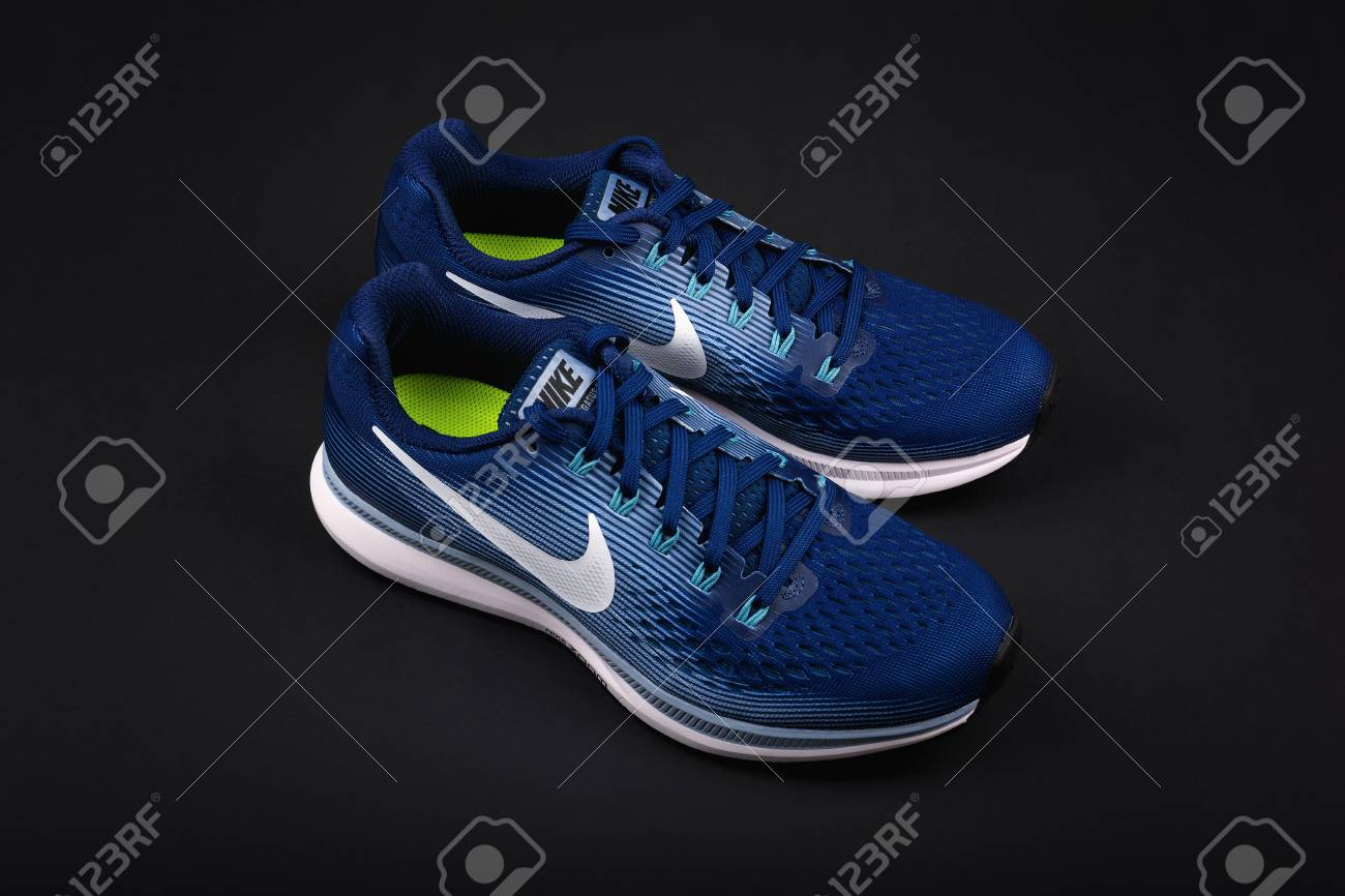 premium selection 4616d e3a81 BURGAS, BULGARIA - SEPTEMBER 6, 2017: Nike Air Zoom Pegasus 34..