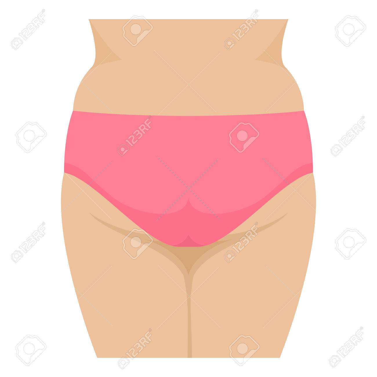 Vector Big Fat Ass In Pink Panties, Fatty Butt Royalty Free Cliparts ...