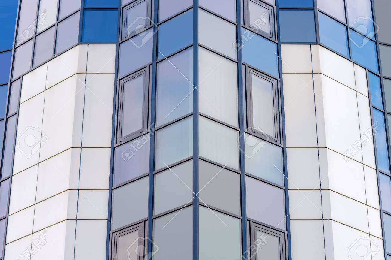 Glass facade texture  Background Texture. Glass Facade Of A Modern High-rise Building ...