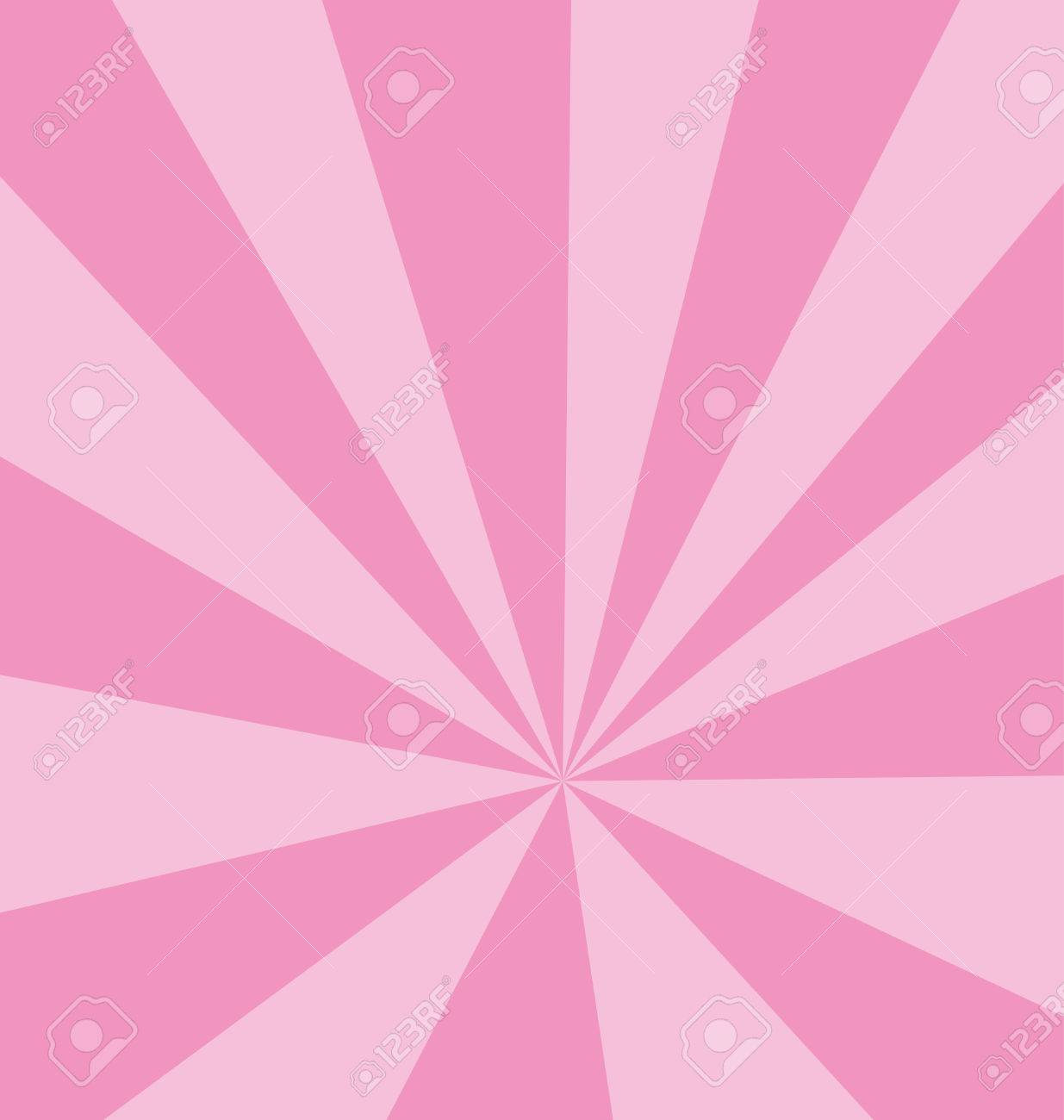 Strips of pink heading to one point creating a template background. Stock Vector - 6903695