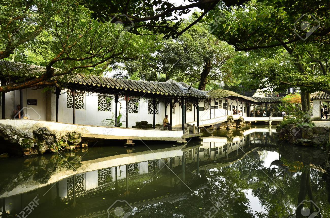 The Scenery Of Humble Administrator S Garden At Suzhou China