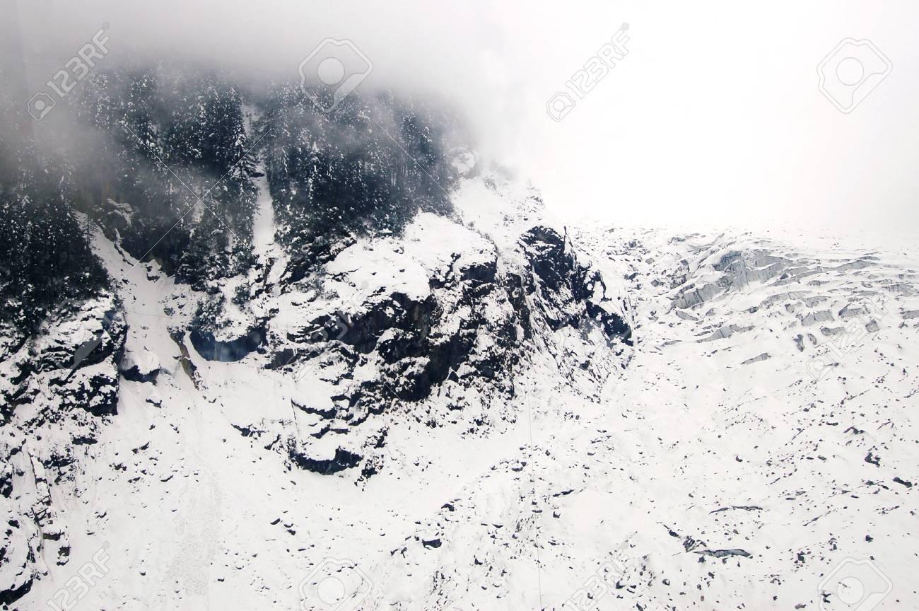 HaiLuoGou glacier Stock Photo - 17702345