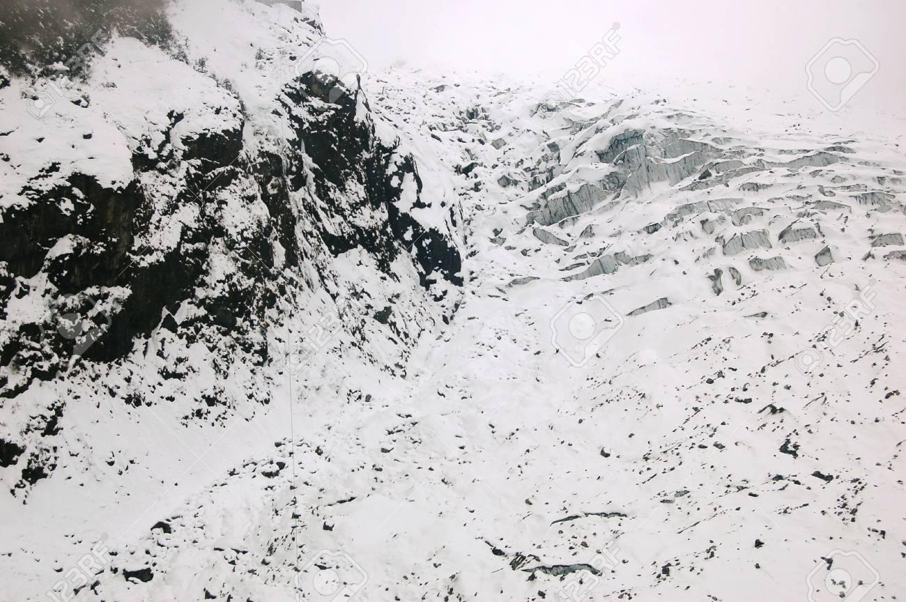 HaiLuoGou glacier Stock Photo - 17702315
