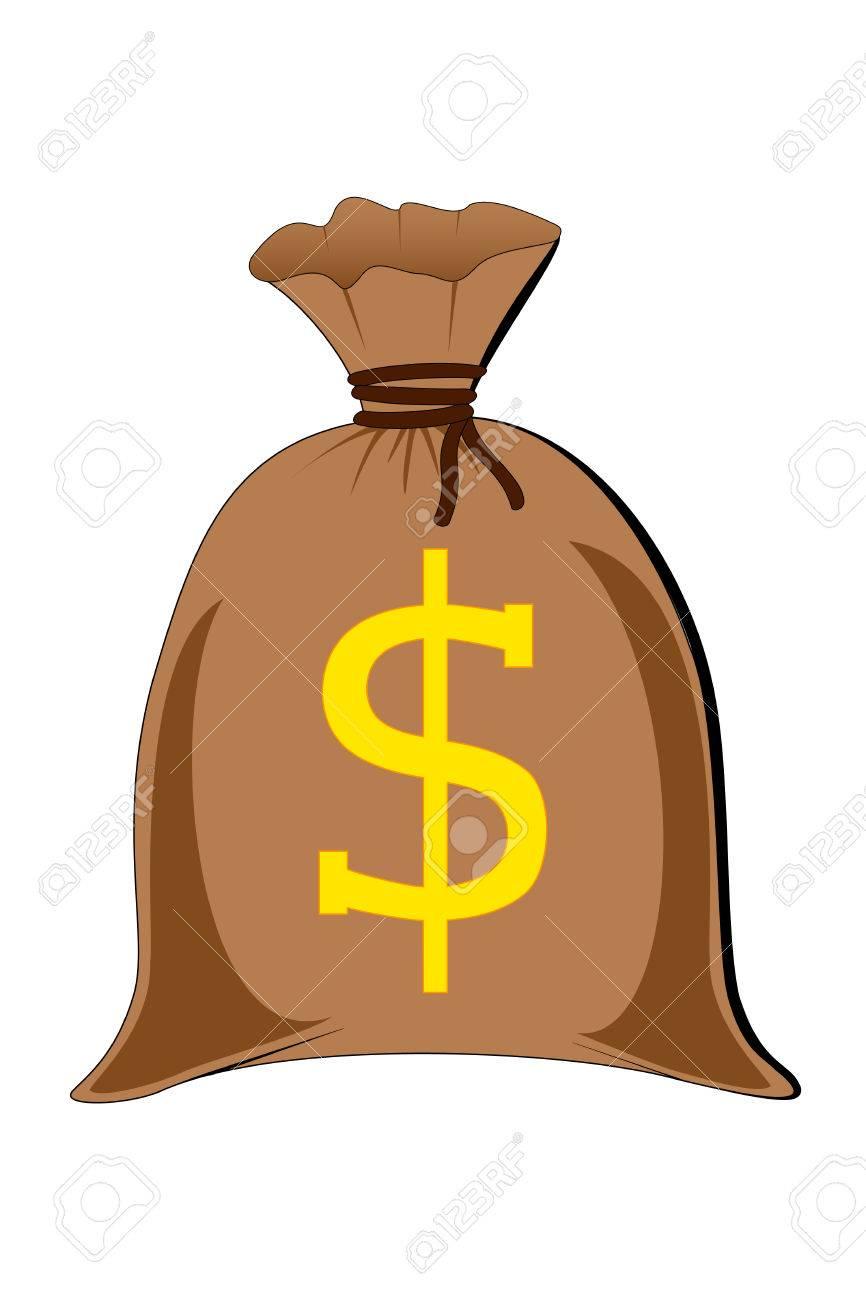 vector of full money sack - 3072136