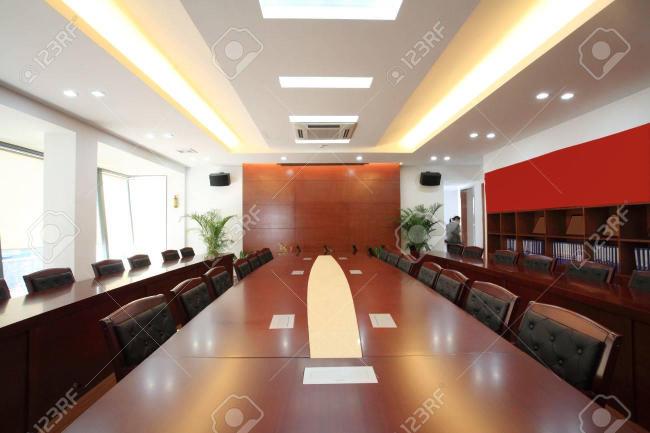 the closeup of Modern city meeting room Stock Photo - 13436816