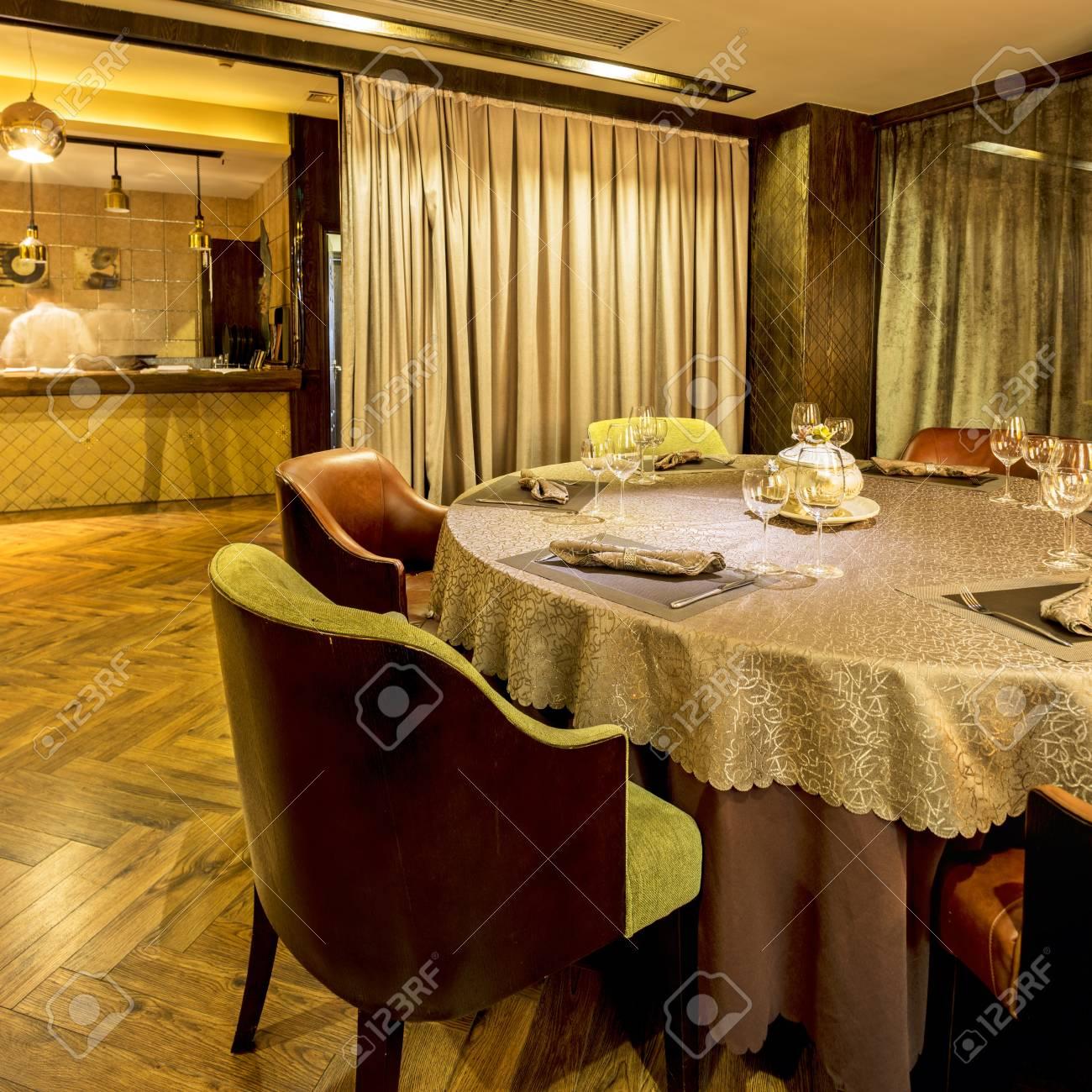 interior of the Italian restaurant Stock Photo - 21795148