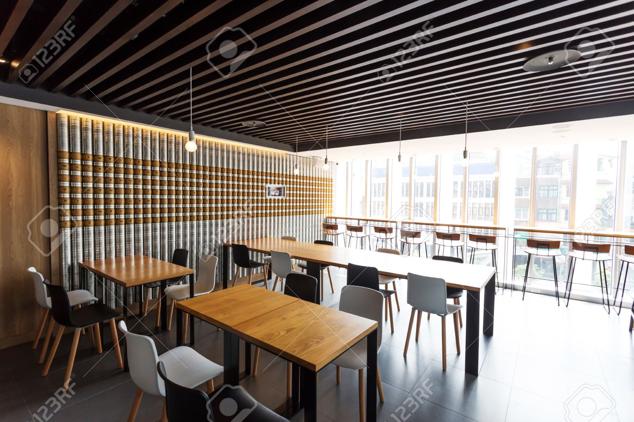 Modern Coffee Bar Interior Stock Photo Picture And Royalty Free