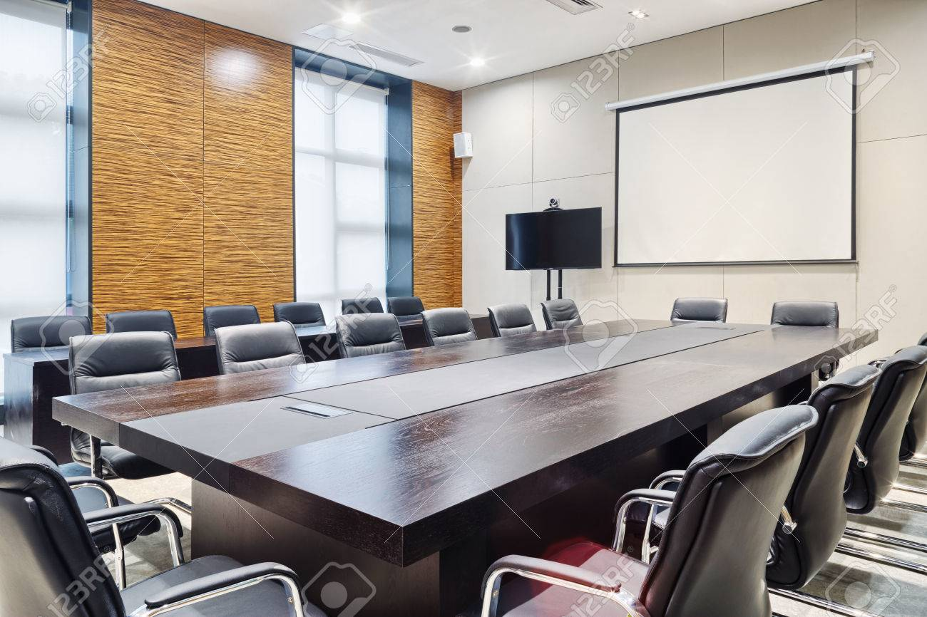 Modern Office Meeting Room Interior And Decoration Stock Photo   34507302