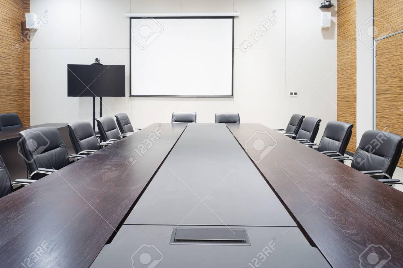 Bureau moderne intérieur de la salle de réunion banque d images et