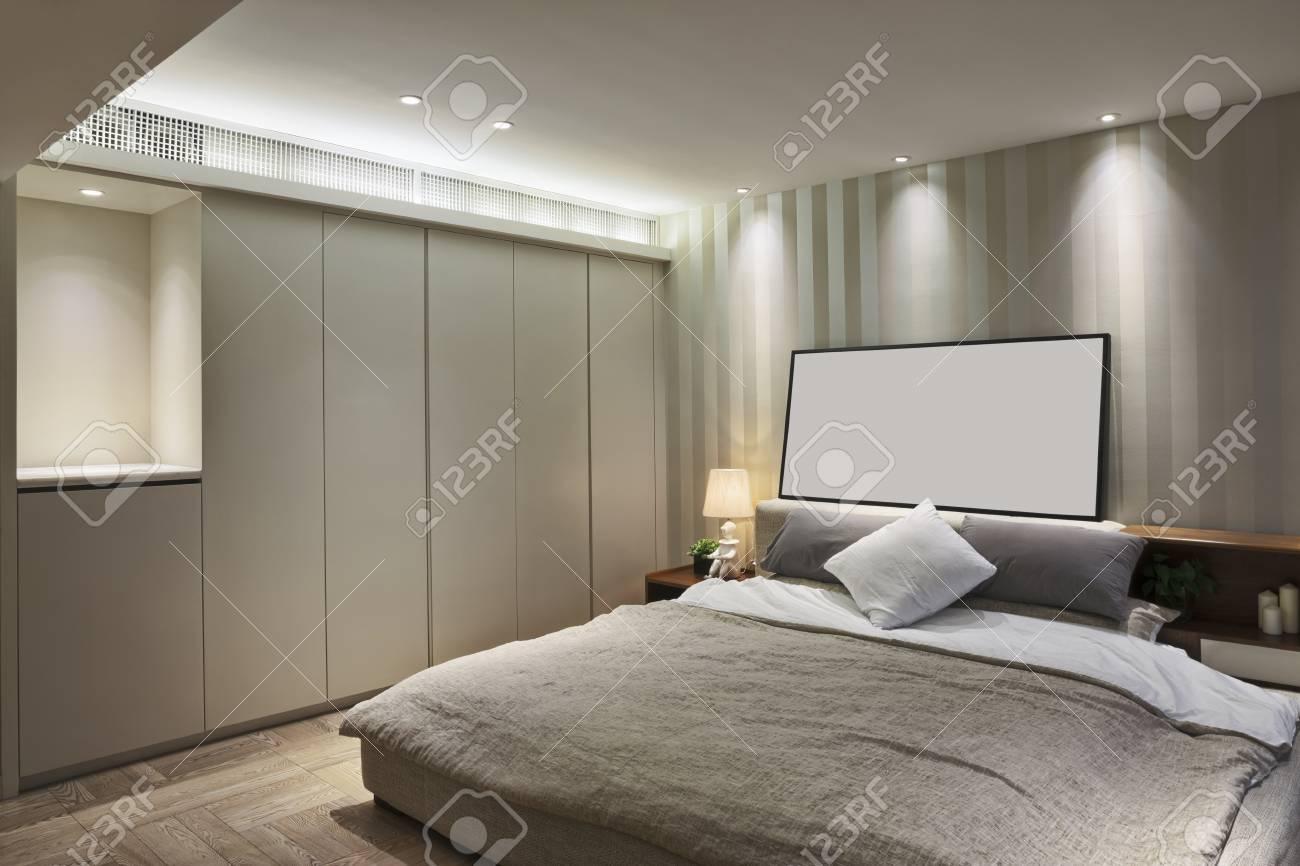 Intérieur et de la décoration de luxe chambre