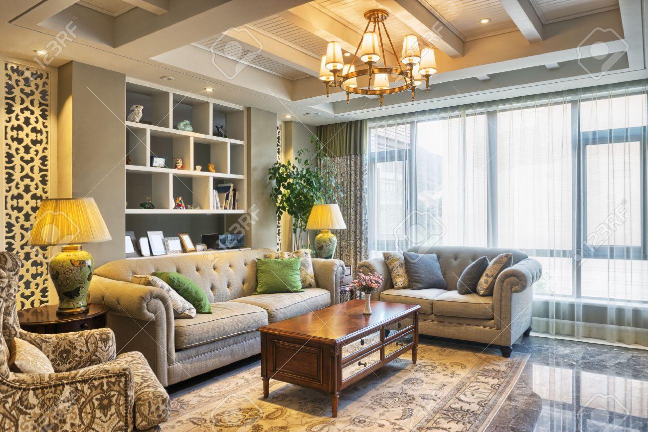 La Décoration De Salon intérieur et de la décoration de luxe salon